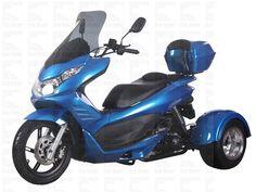 Q6 49cc trike