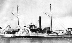 Side Wheel Steamship