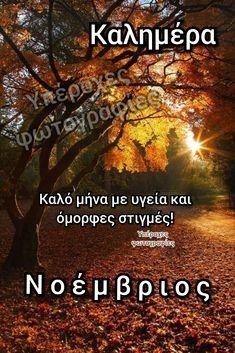Mina, Greek Quotes, Good Morning, Greece, November, Seasons, Art, Paisajes, Buen Dia