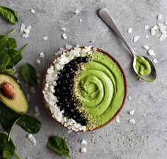 All Green Smoothie Bowl
