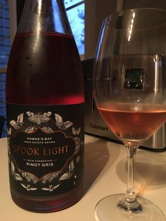 OK Here's a weird one: 2013 Supernatural Spook Light Skin Fermented Pinot Gris. Orange? Rosé? Pet Nat? #wine #winelover #tips #vino #WineWednesday #winelovers #Italy