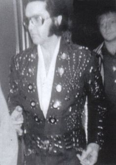 Before his show on April 14, 1972 in Greensboro, NC at the Greensboro Coliseum