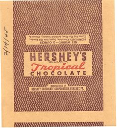 WW2 Hershey's Wrapper   Flickr - Photo Sharing!