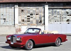 World Of Classic Cars: Rolls-Royce Corniche IV Drophead Coupé by Mulliner...