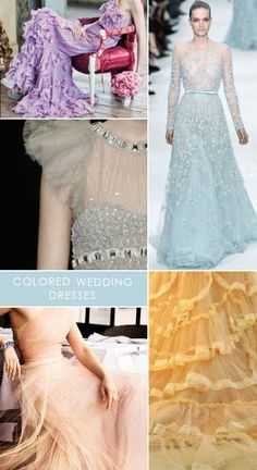 Classy and colored bridal