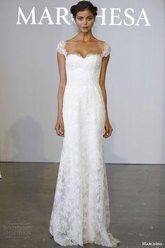Marchesa Bridal Spring 2015 Wedding Dresses