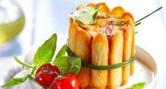 Quiche charlotte tomate-mozzarellaVoir la recette de la Quiche charlotte…