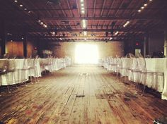 Future Event Space! This could be an idea for the old Schumacher Lumber building.....
