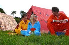 FieldCandy Old Glory Unisex American Flag Waterproof Festival /& Camping Rain Poncho
