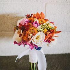 Bouquet de Noivas ? Cor Laranja