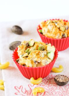 #Lent never tasted so good! Cauliflower Mac & Cheese Muffins {Low Carb, Gluten Free}