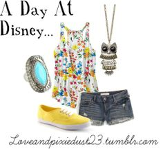 Disney Day in the Park by loveandpixiedust featuring stone jewelry