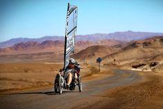 Dave Cornthwaite - Chilean Atacama on Trikes with Sails