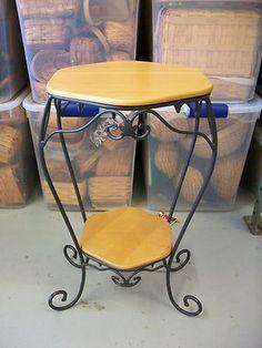 Longaberger Wrought Iron Generation Stand w 2 Shelves | eBay