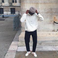 "Simon NNdjock | SAU inspiring on Instagram: ""Trying to put my hood on fleek like un mec de la street. Wearing this @polite_paris 's sweater"""