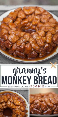 monkey bread with canned biscuits easy - monkey bread . monkey bread with canned biscuits . monkey bread with canned biscuits easy . monkey bread with cinnamon rolls . Holiday Recipes, Dinner Recipes, Canned Biscuits, Good Food, Yummy Food, Delicious Desserts, Breakfast Recipes, Foodies, Easy Meals