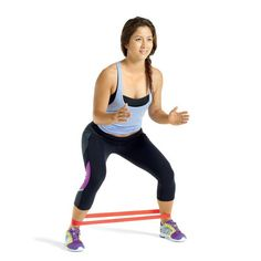 Glute Bridge http://www.womenshealthmag.com/fitness/easy-resistance-band-workout