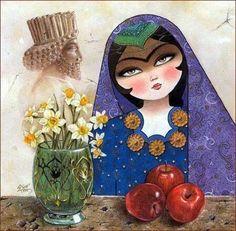 Persia - Cuento de las tres manzasnas