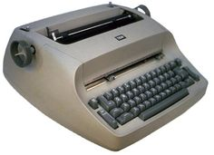 What I learned to type on...in high school