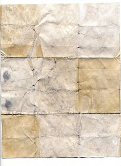Folded paper art by Matt Edward Texture Art, Paper Texture, Art Journal Inspiration, Mellow Yellow, Paper Background, Collage Art, Art Collages, Vintage Paper, Clipart