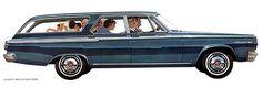 1965 Dodge Coronet Station Wagon - Promotional Advertising Poster