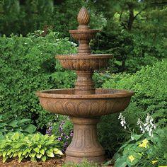 Garden Fountains: Best Seller The Vicobello 3Tier Fountain | Wall Fountains  | Pinterest | Garden Fountains, Fountain And Gardens