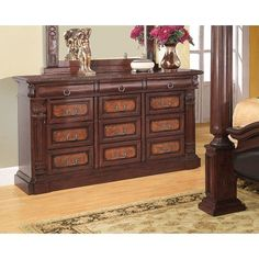coaster home furnishings 202203 traditional dresser cherry see this great product this