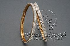 Diamond Bangle   Tibarumal Jewels   Jewellers of Gems, Pearls, Diamonds, and…