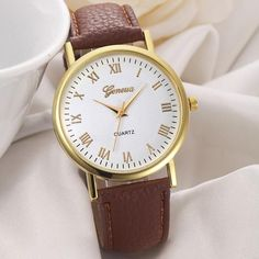 Lover's Watches Charitable Best Sale 2018 Fashion Womens Bracelet Vintage Weave Wrap Quartz Pu Leather Leaf Beads Wrist Watches Lady Watch Relogio Feminino With A Long Standing Reputation