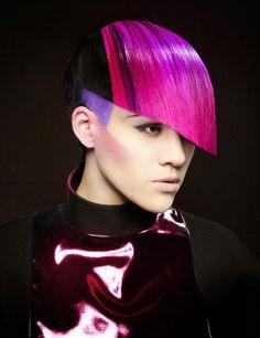 Nick Stenson NAHA 2012 Finalist:  Hair color