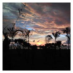Amazing sunset ..