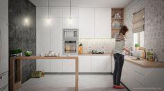 Cocinas escandinavas: ideas e inspiración #cocinas #cocinasmodernas #escandinavas #ideas #inspiracion