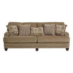 Brennan Sofa in Camel | Nebraska Furniture Mart $549