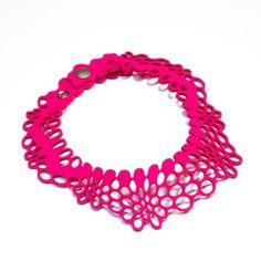Radial Necklace II pink - Nervous system - 66$