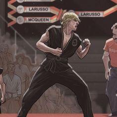 Três décadas se passaram desde Karatê Kid II. De lá pra cá, Daniel LaRusso (Ralph Macchio) e Johnny Lawrence (William Zabka) se tornaram homens de família, voltaram aos tatames (como hobby e depois por profissão) e aprenderam muito sobre a vida. Na terceira temporada de Cobra Kai, os dois sentem que os problemas não parecem tão simples de se resolver quando não se é mais adolescente. #KarateKid #Netflix #CobraKai The Karate Kid 1984, Karate Kid Movie, Karate Kid Cobra Kai, Ralph Macchio, Cobra Kai Wallpaper, Kai Arts, William Zabka, Cobra Kai Dojo, Cuadros Star Wars