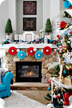 #springintothedreams  Screen Porch Inspiration:  Turquoise and Red.  And, no, Christmas in July will not be featured on my screen porch ... it's the color scheme that I'm Dreaming of this Spring ...