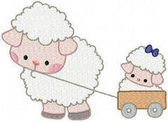 MOM AND BABY SHEEP - Carmellas Korner | OregonPatchWorks