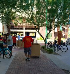 Whether you're moving uptown, downtown, or out of town, our guys will get the job down right. #TucsonMovers #EZMove