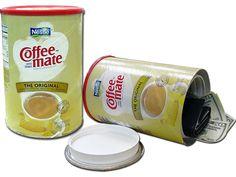 Jumbo Sized Coffee Mate Can Safe