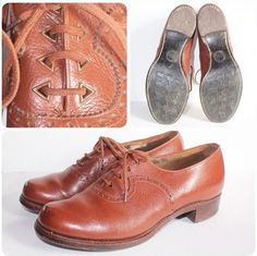 1940's CC41 brown shoes
