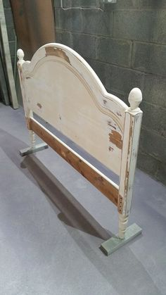 Extensive prep. work and sanding required on this headboard, now ready for primer...more of Malahide contract...