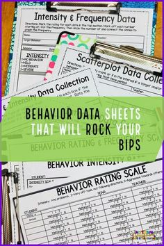Rating scales are a lifesaver when it comes to tracking problem behavior for a behavior support plan. They can help you figure out whether the severity is getting better or worse and they are easy to use. This post has tons of examples of rating scales an Classroom Behavior Management, Behavior Plans, Behavior Tracking, Data Tracking, Teaching Special Education, Art Education, Behavior Interventions, Autism Classroom, Emotional Support Classroom