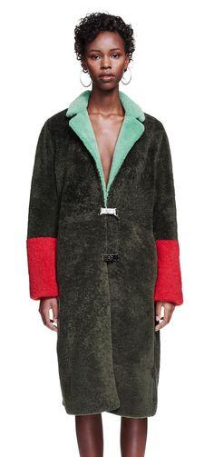 Saks Potts is a Copenhagen-based womenswear brand, established by Barbara Potts and Cathrine Saks. Saks Potts, Fashion 2017, Womens Fashion, Sweater Coats, Winter Wear, Colorful Fashion, Pulls, Women Wear, Style Inspiration