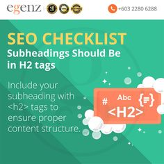 <H2> is for subheadings of that <H1> heading tags. Use <H2> tag to divide content into scan-able blocks; both Google & your website visitor will like it. <H3> is for subheadings of that <H2>, preferably. Think of them (H1 > H2 > H3 tag) as a hierarchy based on importance, the above being more important than the below. Seo, Content, Website, Tags, Google, Mailing Labels
