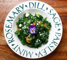 La Table De Nana: Some Blues~And a Cheri Salad~