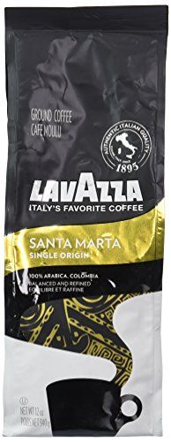 Lavazza Single Origin Premium Coffee Santa Marta 12 Ounce ** Check this awesome product by going to the link at the image. (This is an affiliate link)