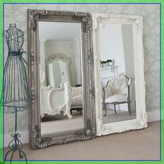 bedroom floor mirror ideas  #bedroom #floor #mirror #ideas Please Click Link To Find More Reference,,, ENJOY!! Blanc Shabby Chic, Cocina Shabby Chic, Shabby Chic Mode, Style Shabby Chic, Muebles Shabby Chic, Shabby Chic Kitchen, Shabby Chic Decor, Shabby Chic Cottage, Cottage Style