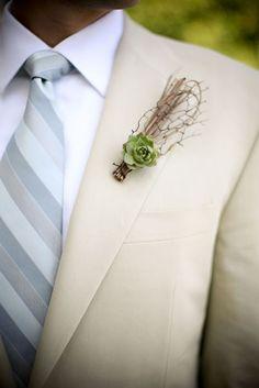 {Wedding Trends} : Modern Organic + Desert Love = Succulents - Belle the Magazine . The Wedding Blog For The Sophisticated Bride