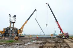 SHANGHAI DISNEYLAND Construction Site