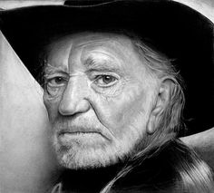 Willie Nelson...Wow...looks like a photo!